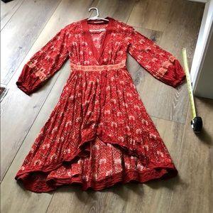 Spell Design Jewel Soirée Dress